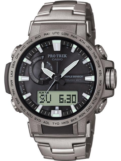 CASIO PRO TREK PRW-60T-7AER Uhr Herren silver/silver/black